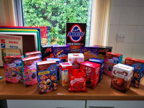 Variety of Easter Eggs donated