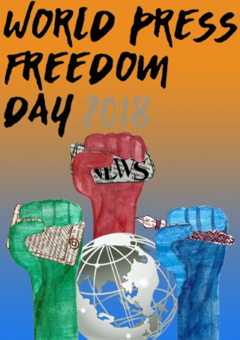 World Press Freedom Day poster
