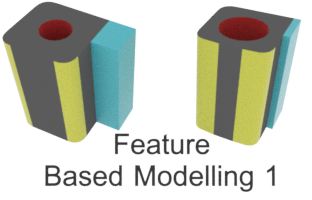 CAD - Feature Based Modelling logo