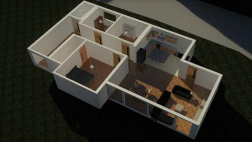 CAD 3D Floor plan