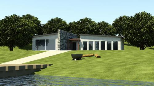 CAD house design