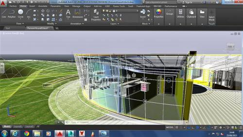 CAD building design