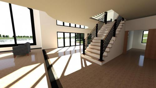 CAD stairs design