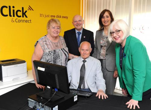 Opening of Click and Connect Maryhill Hub