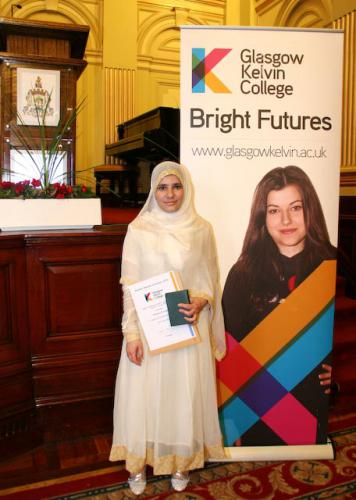 Students at Summer Awards Ceremony 2014