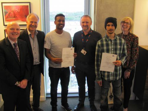 Winning Glasgow Kelvin Students Lay Foundations for Successful Careers