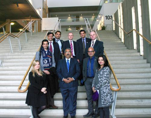 Indian delegation visits college