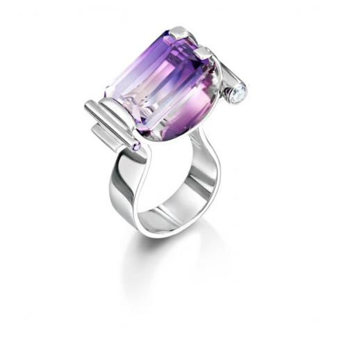 ring with purple stone