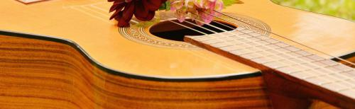 NQ Music Guitar Banner