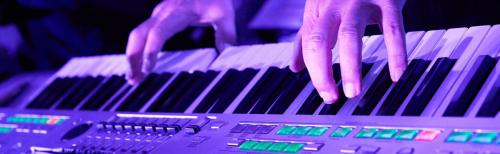 NQ Music Keyboard Banner