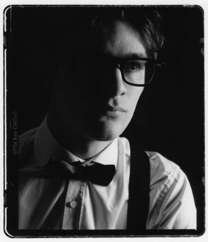 Man in glasses with bow tie