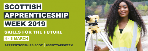 Scottish Apprenticeship Week banner