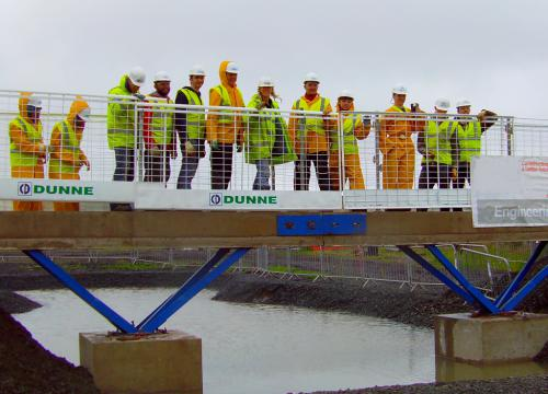 Glasgow Kelvin College's Constructionarium team