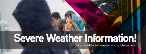 severe weather banner
